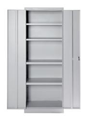 Шкаф за архив с 5 рафта: L60/B39/H180 код:17606P